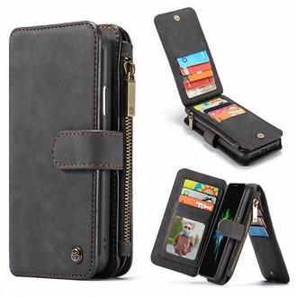 Etui iPhone Xr Portefeuille multifonctions Noir - CaseMe