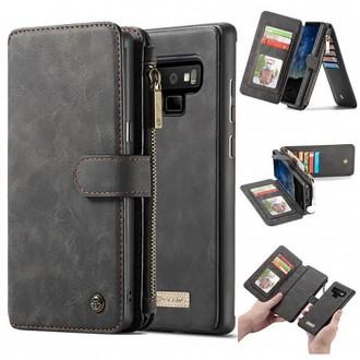 Etui Galaxy Note 9 Portefeuille multifonctions Noir - CaseMe