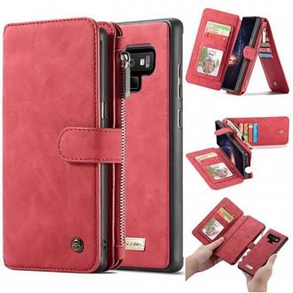 Etui Galaxy Note 9 Portefeuille multifonctions Rouge - CaseMe