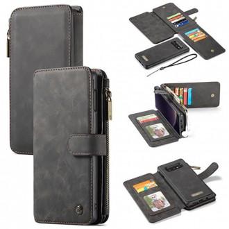 Etui Galaxy S10e Portefeuille multifonctions Noir - CaseMe