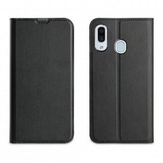 Etui Galaxy A40 porte cartes Noir - Muvit