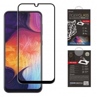 Film pour Galaxy A40 protection écran verre trempé avec applicateur - Muvit