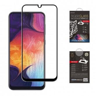 Film pour Galaxy A50 protection écran verre trempé avec applicateur - Muvit