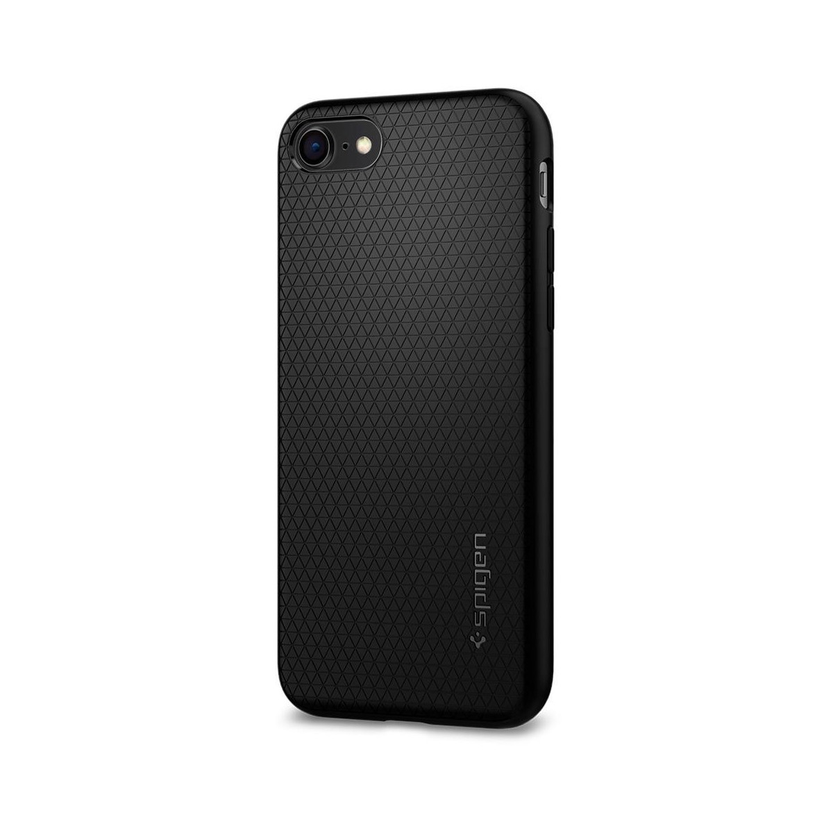 Coque iPhone 7 / 8 Liquid Air noir mat - Spigen