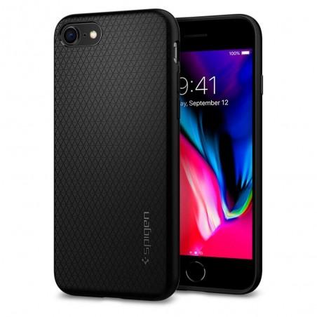 Coque iPhone 7 / 8 Liquid Air noir mat - Spigen