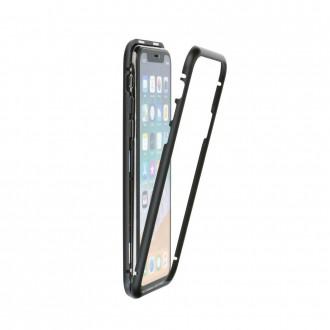 Coque intégrale Magneto iPhone Xr noir - Crazy Kase