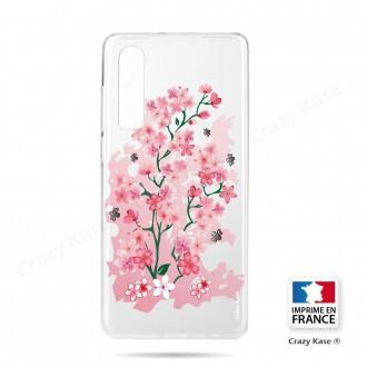 Coque Galaxy A70 souple motif Fleurs de Cerisier - Crazy Kase