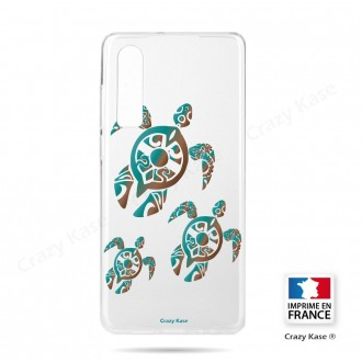 Coque Galaxy A70 souple motif Famille Tortue - Crazy Kase