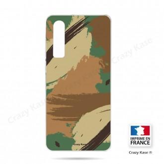 Coque Galaxy A70 souple motif Camouflage - Crazy Kase