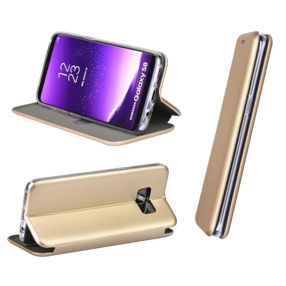 Etui Galaxy A50 Folio Doré - Forcell