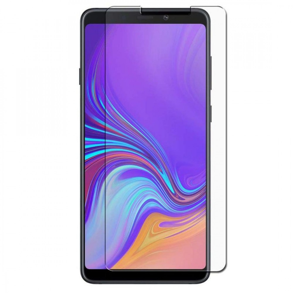 Film pour Galaxy A9 (2018) protection verre trempé plat - Crazy Kase