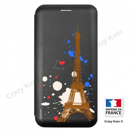 Etui Galaxy A6 (2018) motif Paris - Crazy Kase