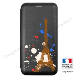 Etui Galaxy A6+ (2018) motif Paris - Crazy Kase