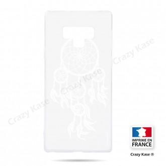Coque Galaxy Note 9 souple motif Attrape Rêves Blanc - Crazy Kase