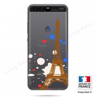 Coque compatible Huawei P10 souple Paris - Crazy Kase