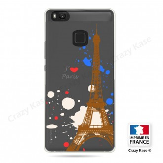 Coque compatible Huawei P9 Lite souple Paris - Crazy Kase
