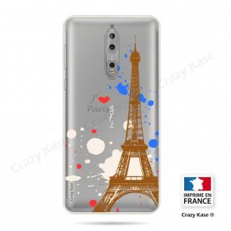 Coque compatible Nokia souple Paris - Crazy Kase