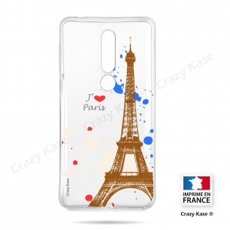 Coque compatible Nokia 4.2 souple Paris - Crazy Kase