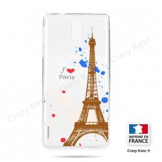 Coque compatible Nokia 3.1 souple Paris - Crazy Kase