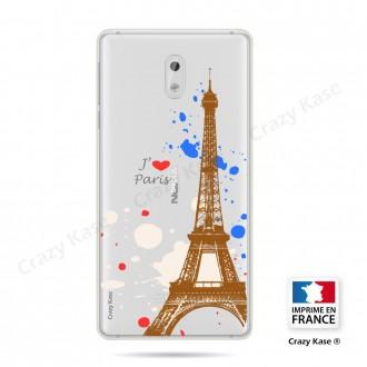 Coque compatible Nokia 3 souple Paris - Crazy Kase