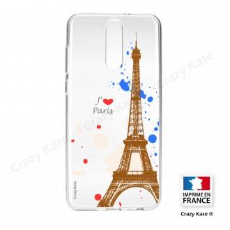 Coque compatible Huawei Mate 10 Lite souple Paris -  Crazy Kase