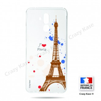 Coque compatible Huawei Mate 20 Lite souple Paris -  Crazy Kase
