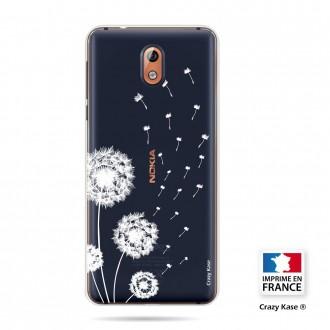 Coque compatible Nokia 3.1 souple Fleurs de pissenlit - Crazy Kase
