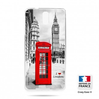 Coque compatible Nokia 3.1 souple Londres -  Crazy Kase
