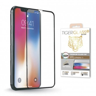 "Protection en verre trempé pour iPhone 11 (6.1"") (A2221) Tiger Glass Plus par Muvit"