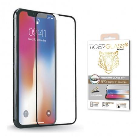 Film pour iPhone 11 Pro protection écran verre trempé avec applicateur - Muvit