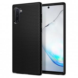 Coque compatible Galaxy Note 10 Liquid Air noir mat - Spigen