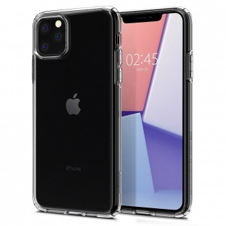 Coque compatible iPhone 11 Pro Liquid Crystal transparente - Spigen