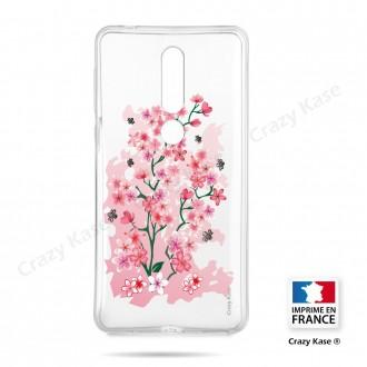 Coque compatible Nokia 4.2 souple Fleurs de Cerisier - Crazy Kase