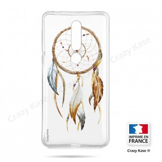 Coque compatible Nokia 4.2 souple Attrape Rêves Nature - Crazy Kase