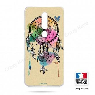 Coque compatible Nokia 4.2 souple Attrape rêve et papillon - Crazy Kase