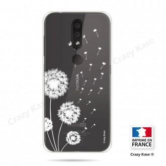 Coque compatible Nokia 4.2 souple Fleurs de pissenlit - Crazy Kase
