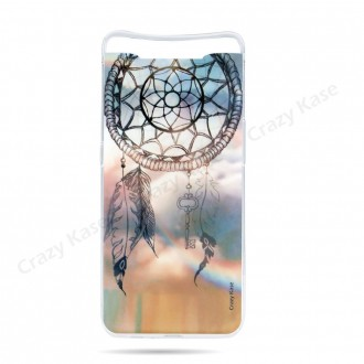 Coque compatible Galaxy A80 souple Attrape rêves  - Crazy Kase