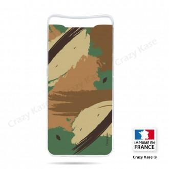 Coque compatible Galaxy A80 souple Camouflage - Crazy Kase