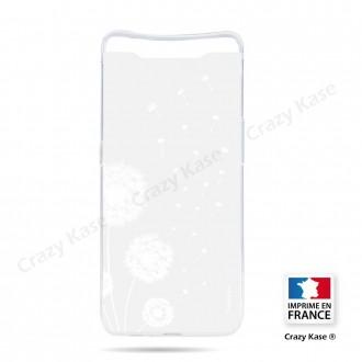 Coque compatible Galaxy A80 souple Fleurs de pissenlit - Crazy Kase