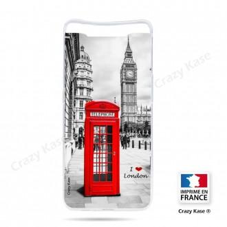 Coque compatible Galaxy A80 souple Londres -  Crazy Kase