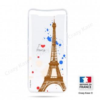 Coque compatible Galaxy A80 souple Paris - Crazy Kase