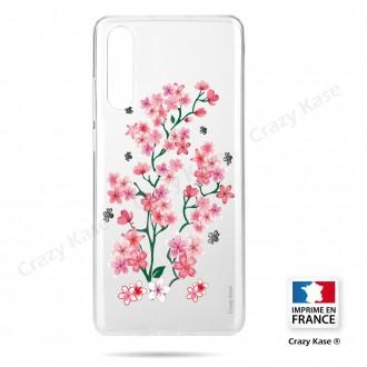 Coque compatible Galaxy A50 souple Fleurs de Sakura - Crazy Kase