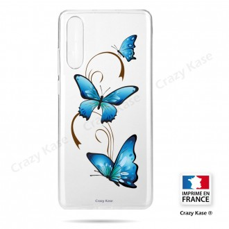 Coque compatible Galaxy A50 souple Papillon sur Arabesque - Crazy Kase