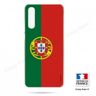 Coque compatible Galaxy A50 souple Drapeau Portugais - Crazy Kase