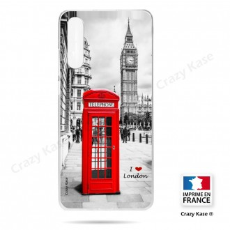 Coque compatible Galaxy A50 souple Londres -  Crazy Kase