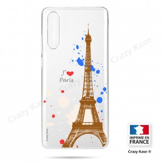 Coque compatible Galaxy A50 souple Paris - Crazy Kase