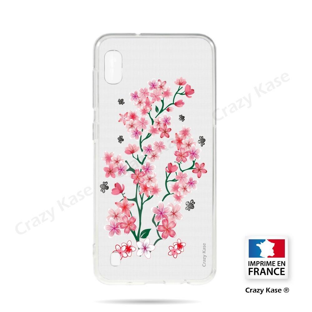 Coque compatible Galaxy A10 souple Fleurs de Sakura - Crazy Kase