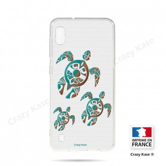 Coque compatible Galaxy A10 souple Famille Tortue - Crazy Kase