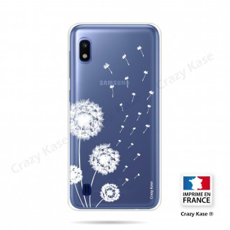 Coque compatible Galaxy A10 souple Fleurs de pissenlit - Crazy Kase