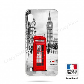 Coque compatible Galaxy A10 souple Londres -  Crazy Kase
